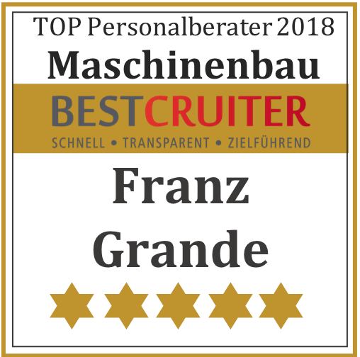 TOP Personalberater 2018 Maschinenbau
